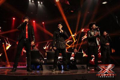 Dimension - Thriller ( Michael Jackson ) (X Factor Indonesia) (2013