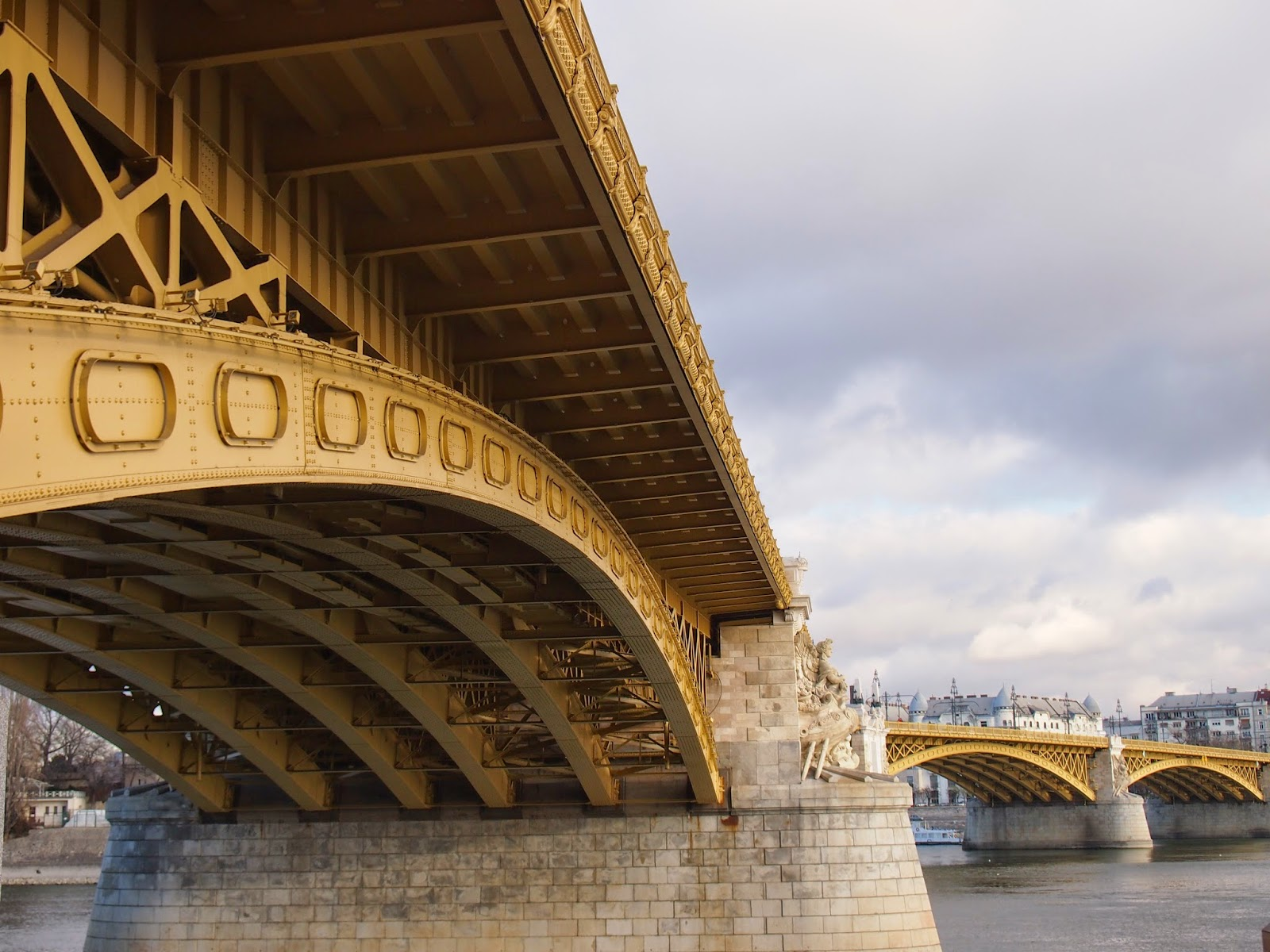 The Margrit Bridge in Budapest