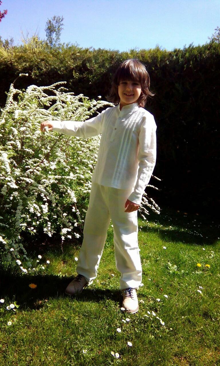 camisa y pantalon de lino