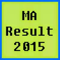 PU Lahore MA Result 2016 Part 1 and Part 2