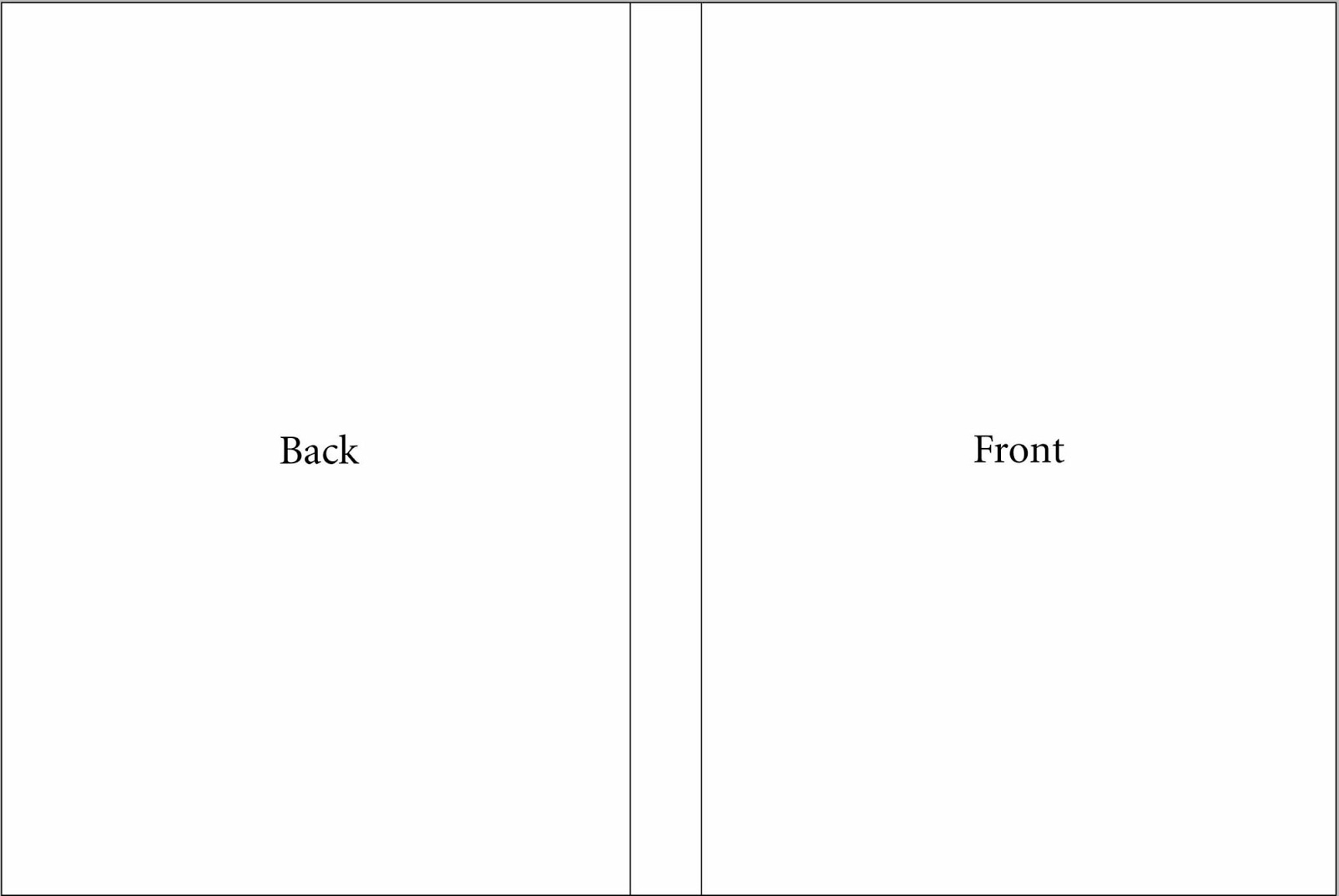 template for dvd case