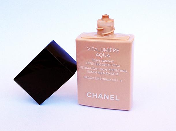 review chanel vitalumiere aqua foundation the beauty milk. Black Bedroom Furniture Sets. Home Design Ideas