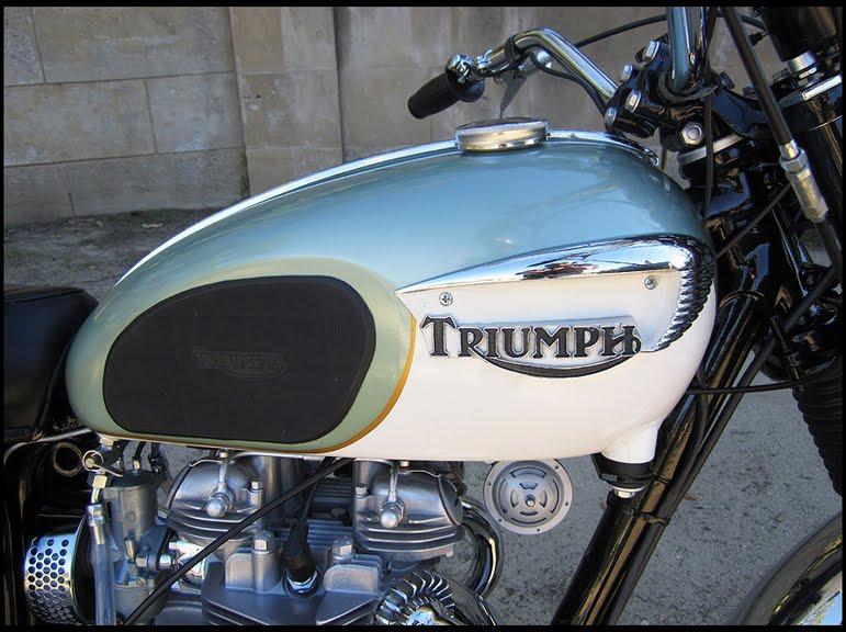 1967 Triumph Trophy Special TR6C  SOLD      ton up classics