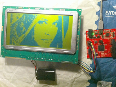 Graphics LCD display With FPGA