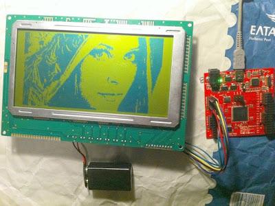 Graphics LCD display With FPGA