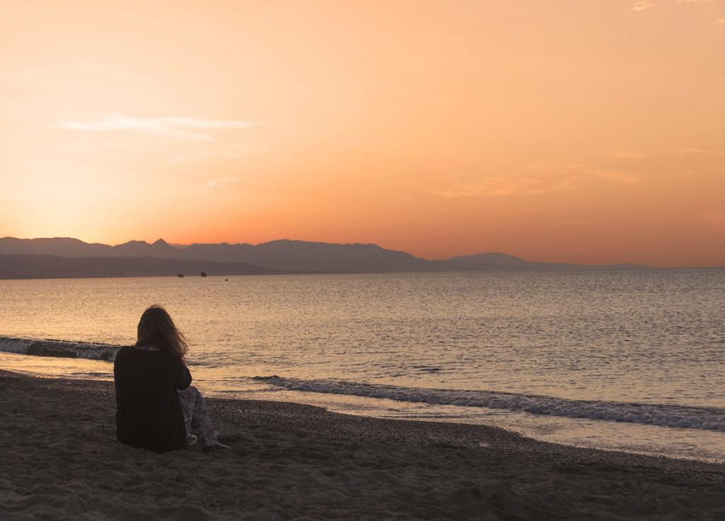 Fotografía playa Guadalmar Málaga