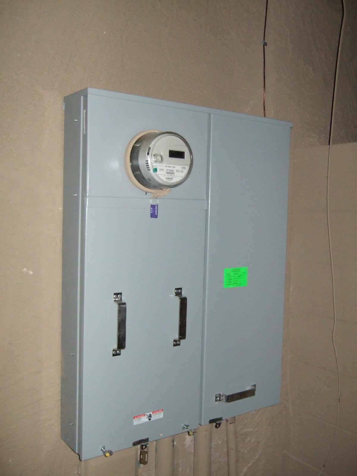 Panel Amperage Meters : Azben amp meter panel installed