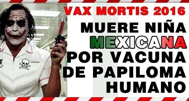 Conspiraciones Y Noticias Actuales Vax Mortis 2016 Vph