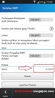 Download BBM 2.2.0.27 Apk Aplikasi BBM Update