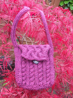 cabled bag