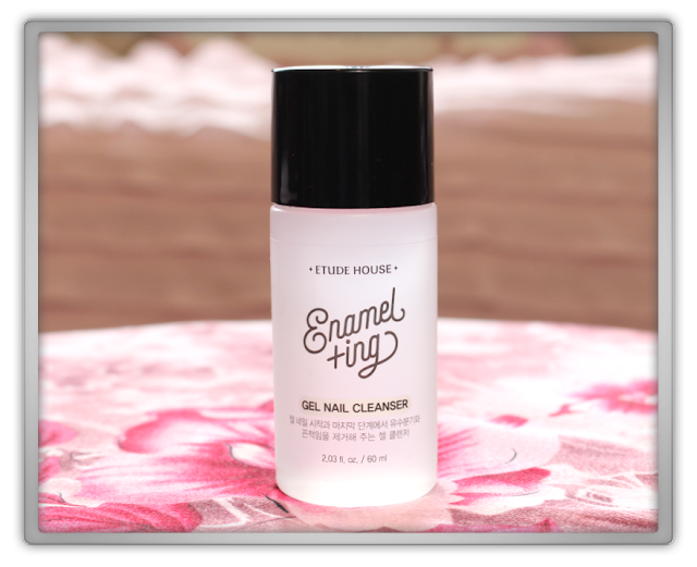 Jolse Etude House enamelting gel nails Haul Review 2015 beauty blogger Enamelting Gel Nail Cleanser