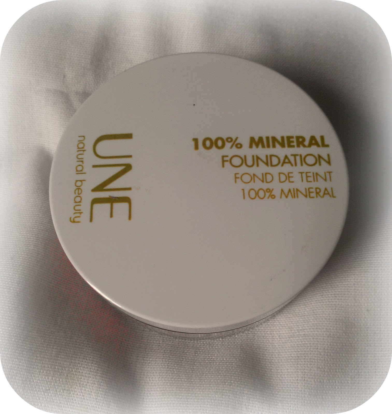 une mineral foundation recension