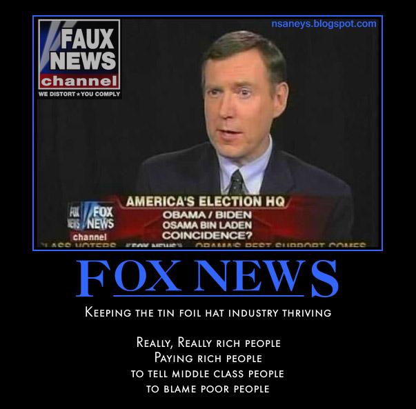 Political Memes: Fox News: Fairly Unbalanced