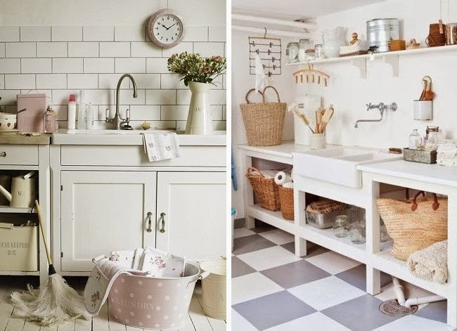 Pehache ideas para ponerle onda a tu lavadero for Lavaderos para casa