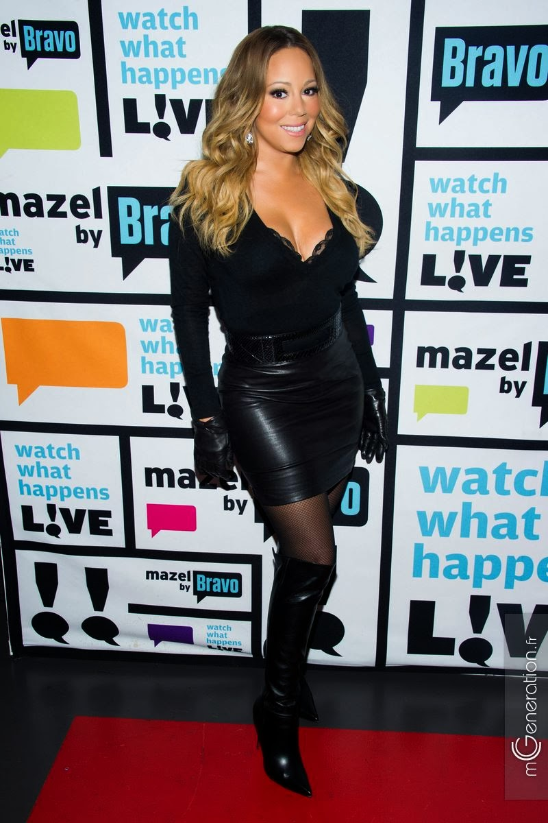 Ladies in leather gloves and boots - Mariah Carey Leather Video Mariah Carey In Leather Gloves Leather Boots And