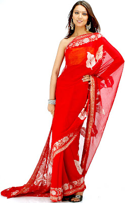 Traditional and Modern Wedding Saree From Indian Dressespic 2014