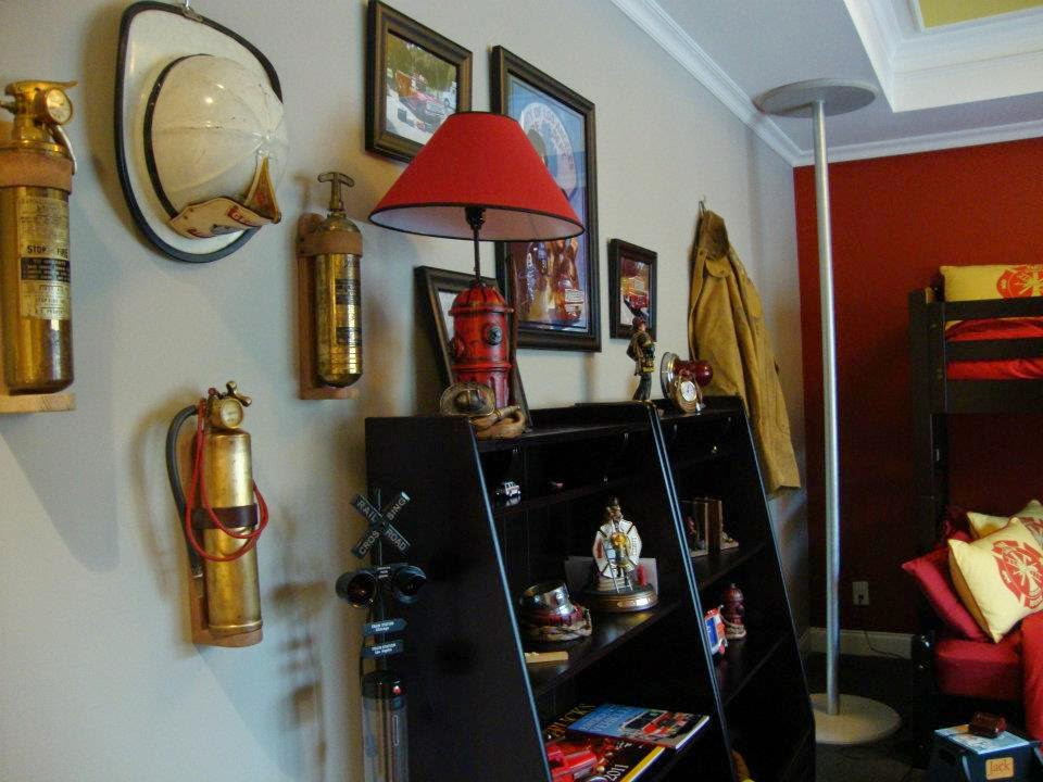 Jacku0027s Firefighter Bedroom