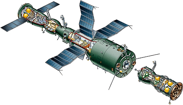 salyut 1 space station illustration - photo #18