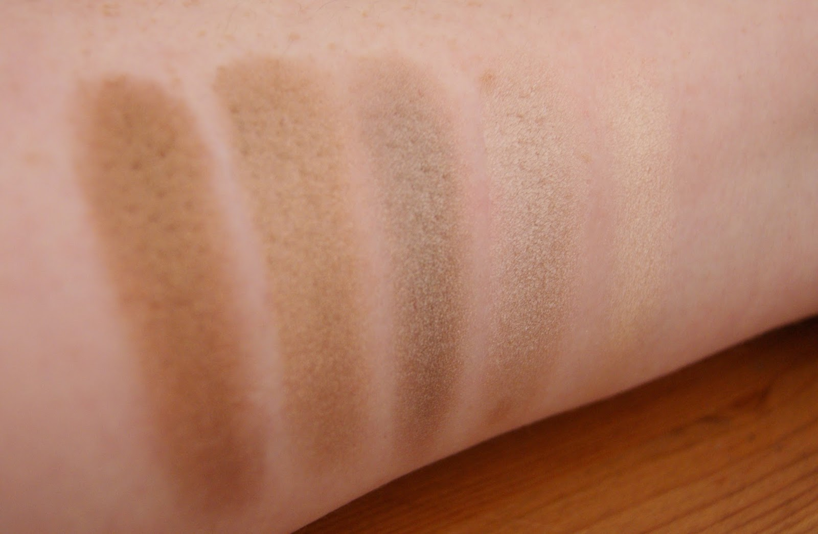 Makeup Revolution Death By Chocolate Row 3 Swatches