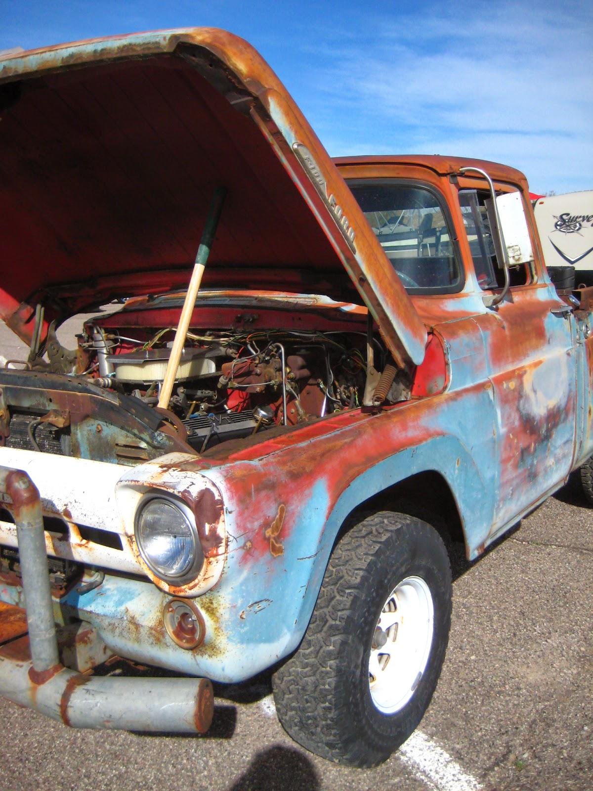 vintage truck Rockabilly Reunion 2014