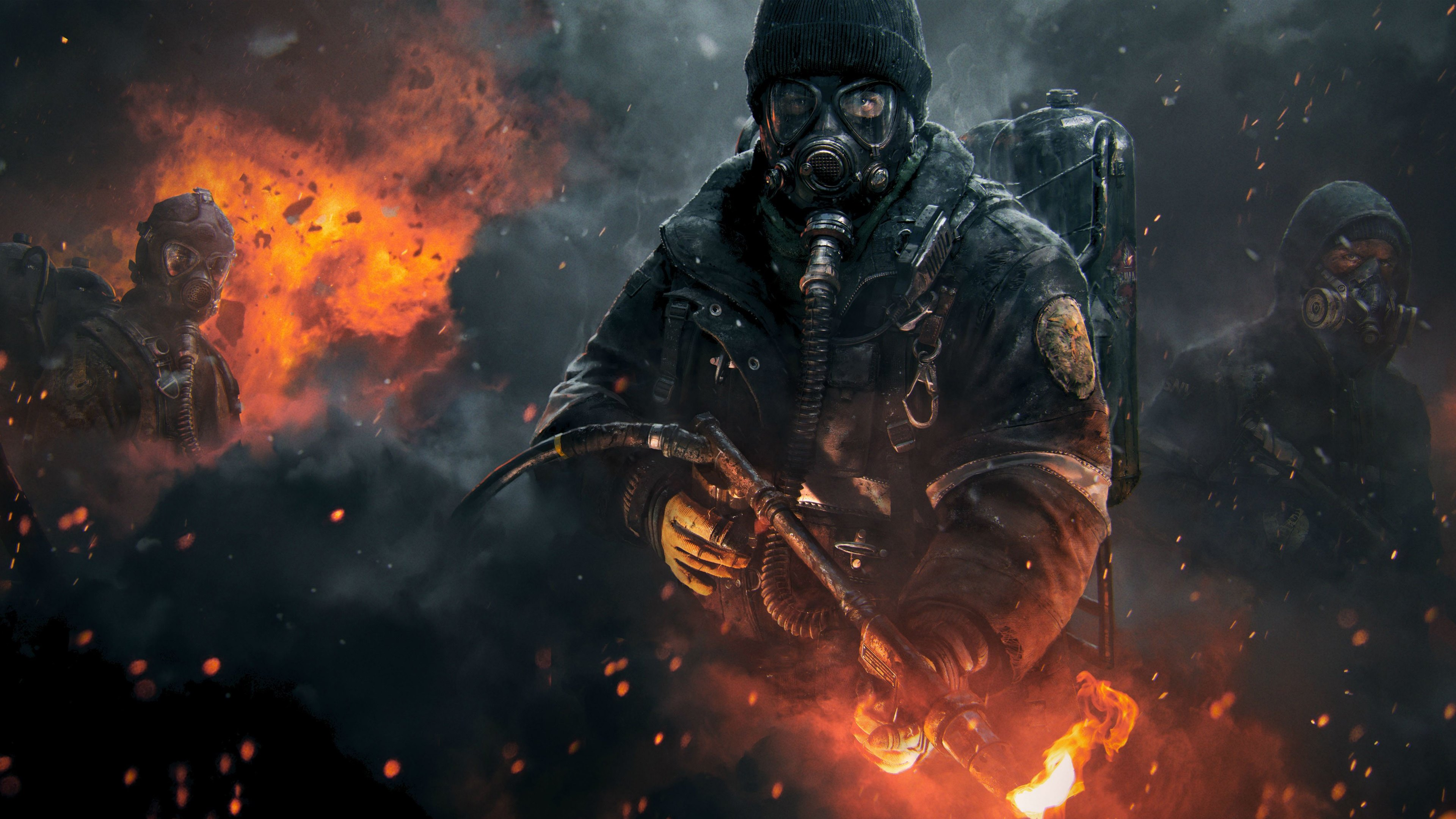 Tom clancy s the ision wallpapers hd wallpapers