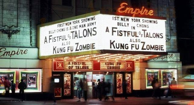 [A FISTFUL OF KUNG-FU] 28 mm Skirmish Hong-Kong Cinema Game A+Fistful+of+Talons+Kung+Fu+Zombie+Theater+Marquee+42nd+st