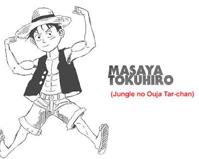 Gambar Luffy yang digambar oleh masaya tokuhiro