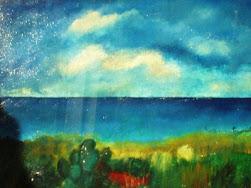 Paesaggio Sardo-Olio su tela (mamy)