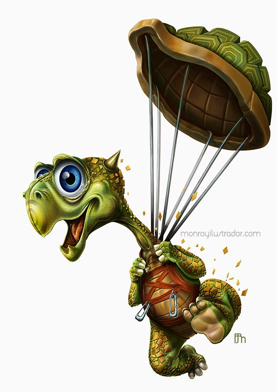 Parachuturtle