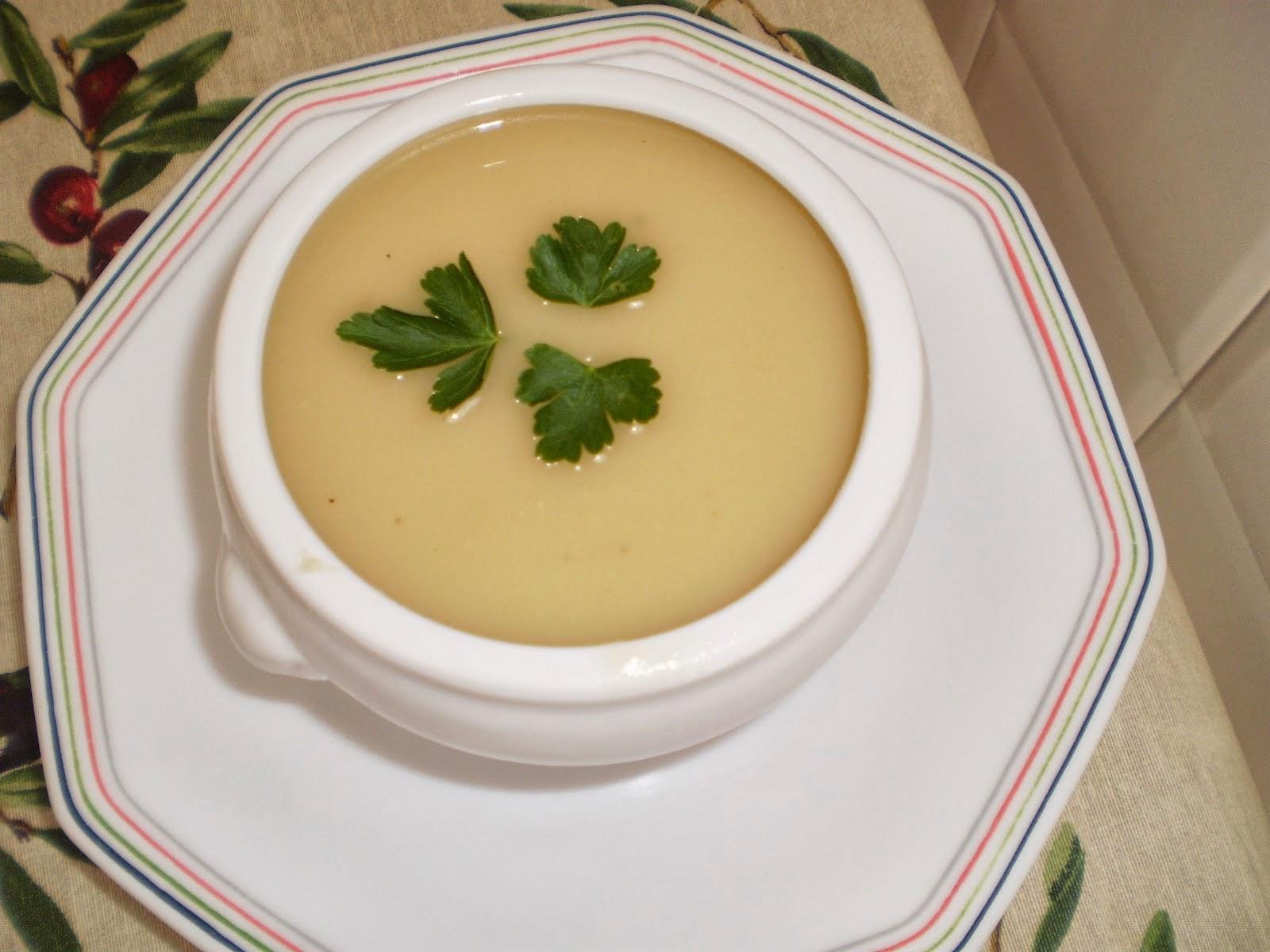 Consome De Crema De Patata