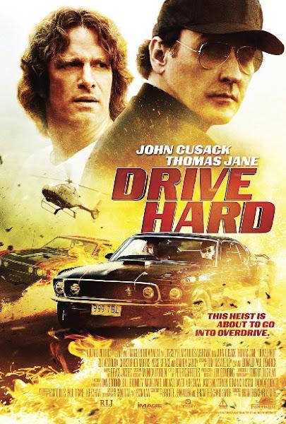 Poster Of Drive Hard 2014 720p BluRay Dual Audio