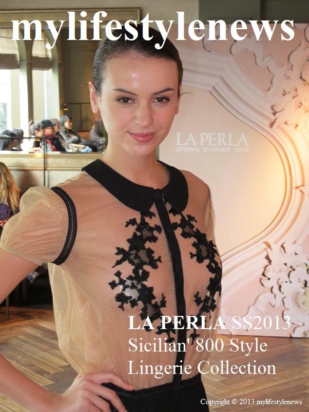 mylifestylenews: LA PERLA SS2013 Sicilian' 800 Style Lingerie Collection