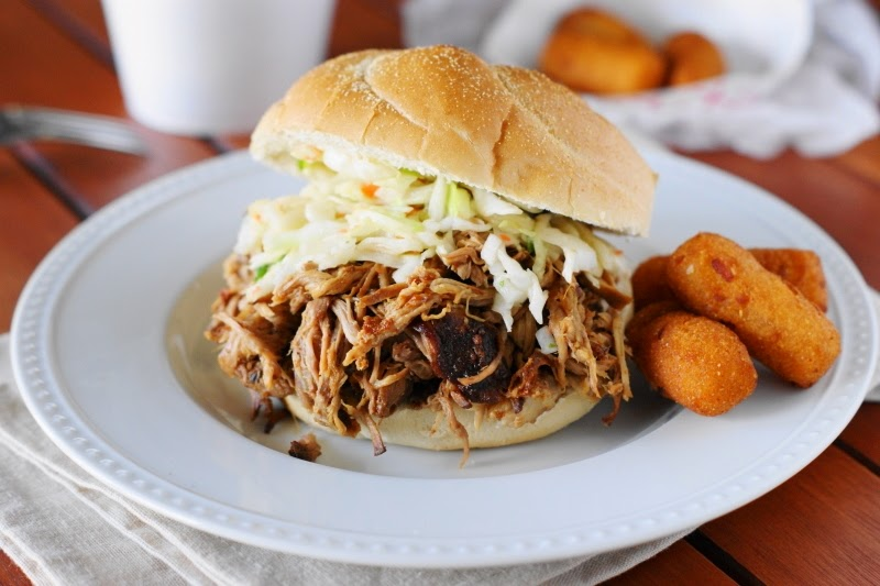 Easy Slow Cooker Pulled Pork Barbecue Recipe {& Lay's 'Do Us A Fl...