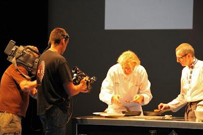 Pierre Gagnaire cocinando Blog Esteban Capdevila