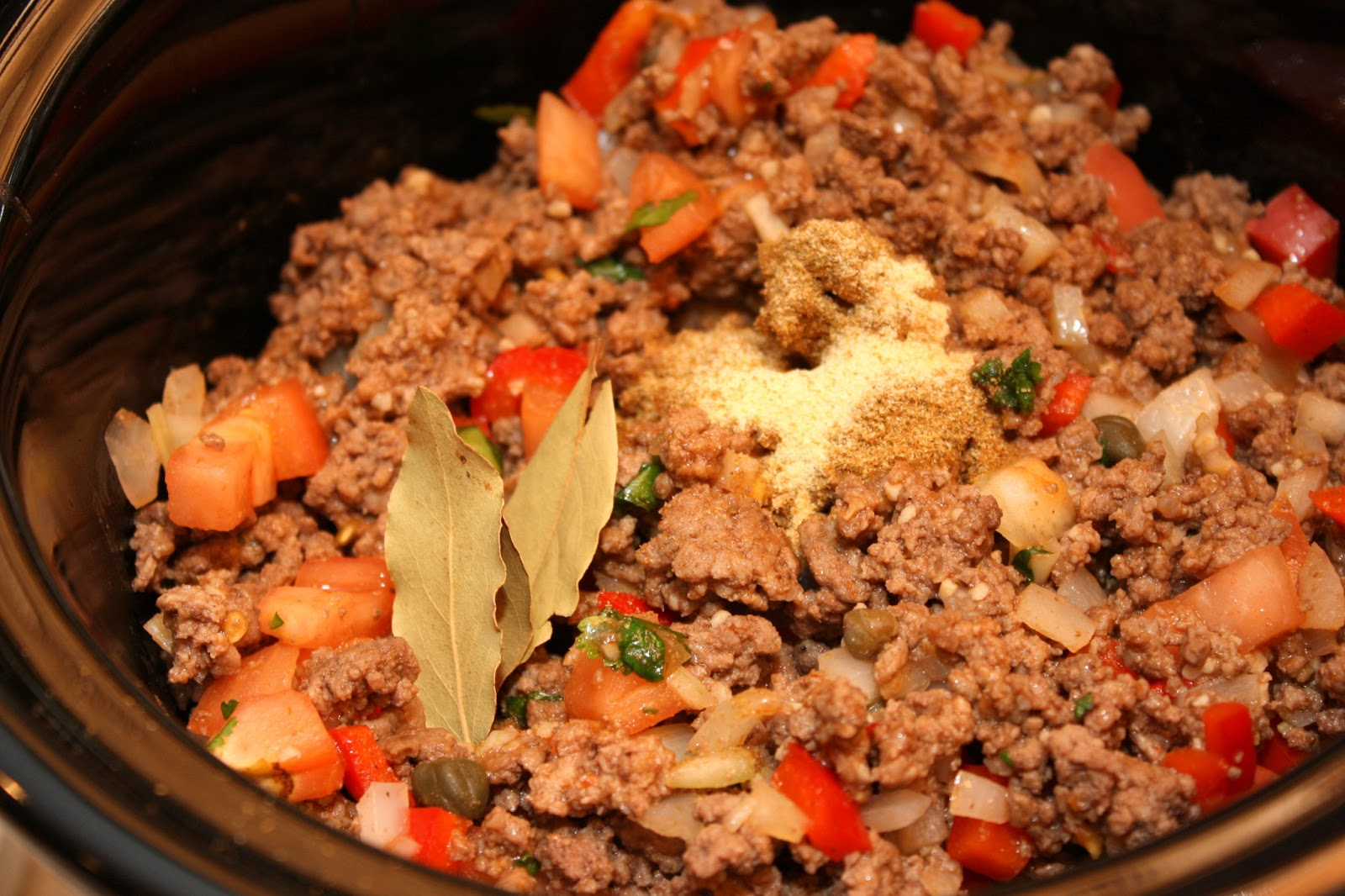The Bitchin' Kitchin': Crock Pot Picadillo