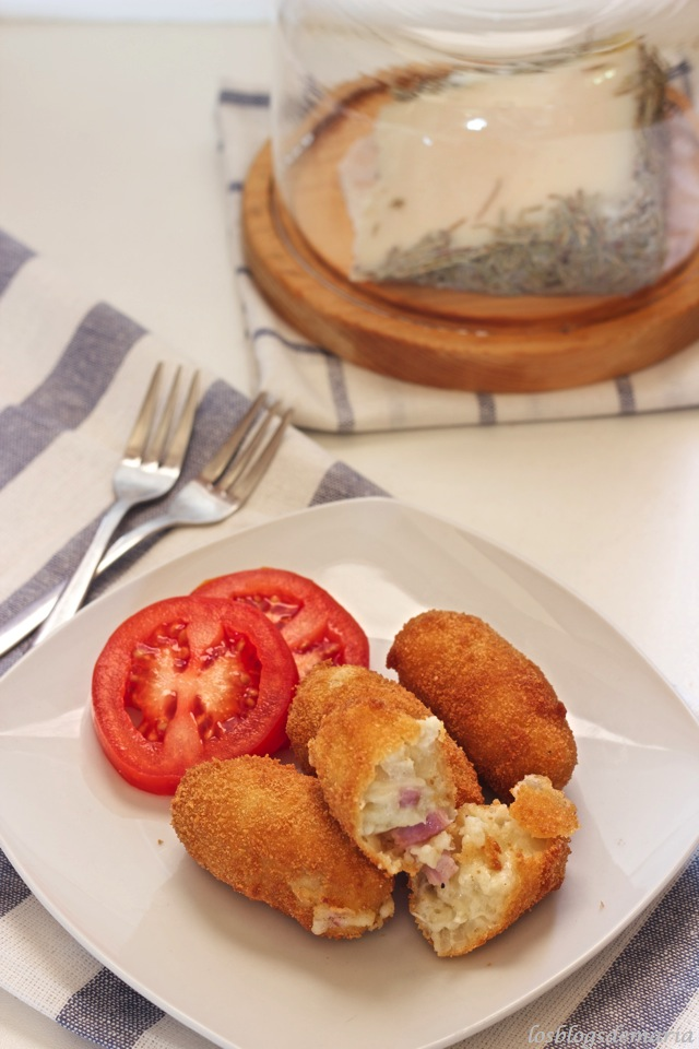 Croquetas de Bacon y Queso