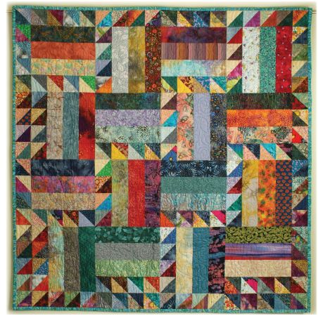 Easy Quilt Patterns Rail Fence : January 2014 FREE Quilt Pattern Page 7