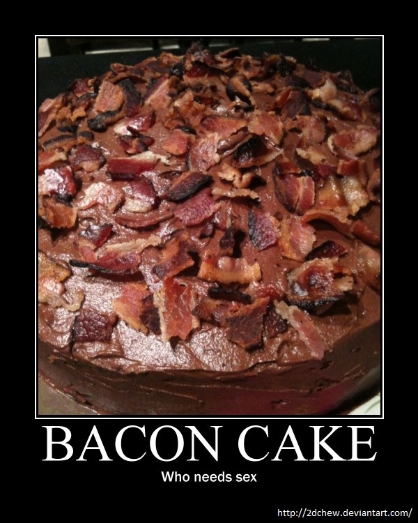 Bacon Dippers Gallery Bacon Birthday Cake