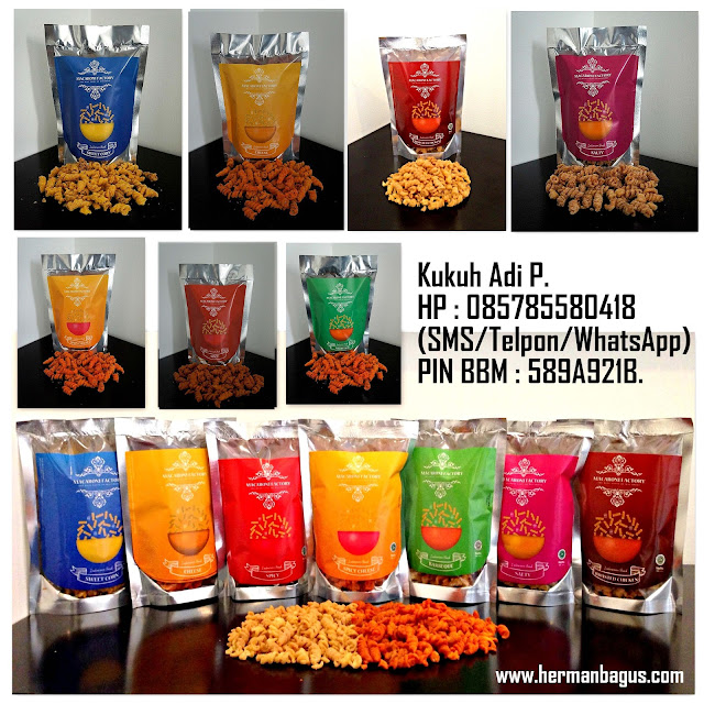 Macaroni Factory Snack Berbahan Alami Tanpa Bahan Pengawet