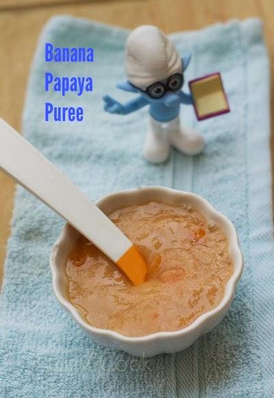 Banana Papaya Puree