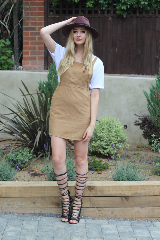 brown fedora missguided