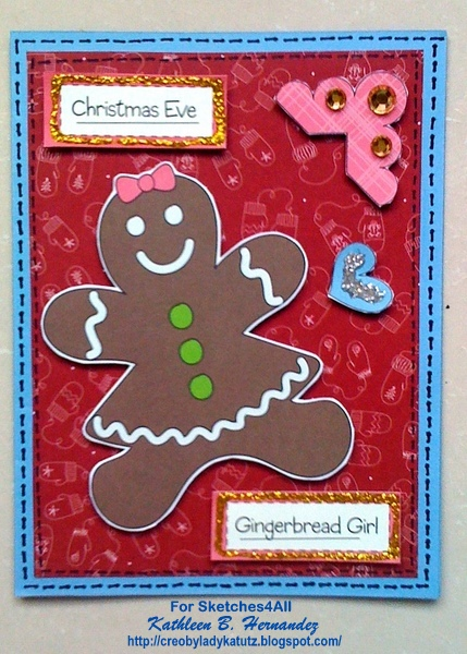 Creo By Lady Katutz Gingerbread Christmas Cards For St
