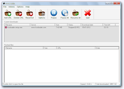 KooLoader , download manager