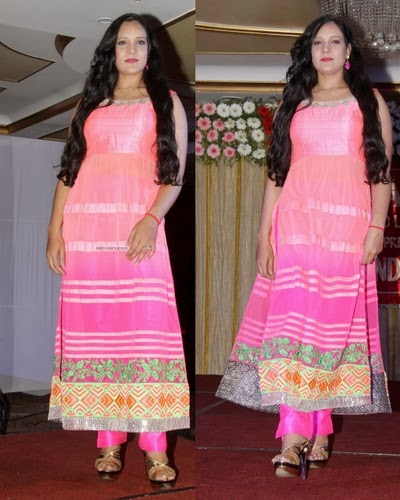 Muskhan Light Pink Churidar