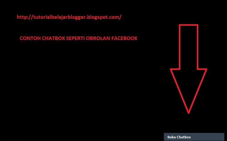 Facebook chat box tutorial
