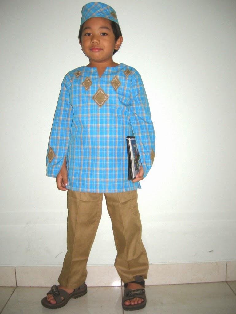 Gambar baju muslim anak untu mengaji