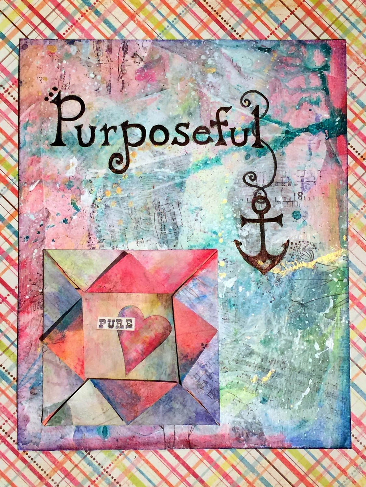 Mixed Media Art Journal Anchor