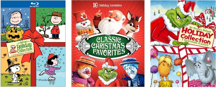 1 winner will receive a peanuts deluxe holiday collection classic christmas favorites or dr seusss deluxe holiday collection on blu rayprize will be - Classic Christmas Favorites