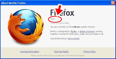 mozilla firefox 13.0