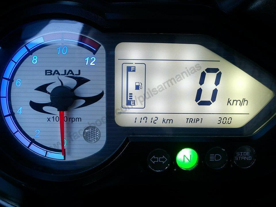 Pulsar Lover  Changing The Backlight Of Speedo Console Of Pulsar  Easy Way